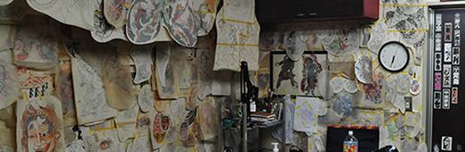 スタジオの内観