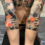 桜と金魚(五分袖から七分袖に延長)